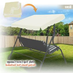 Swing Top Cover Replacement Canopy Porch Park Patio Outdoor