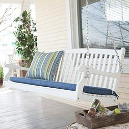 Porch Swing for 2 Patio Outdoor Yard Garden Seating, All-Wea