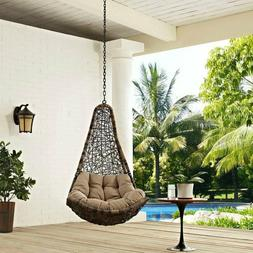 265-lb Home Outdoor Patio Furniture Swing Hanging Chair w/o