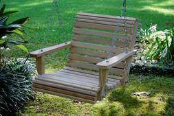2ft cypress wood wooden roll contoured seat