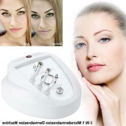 3 in 1 Diamond Microdermabrasion Dermabrasion Face Peel Vacu