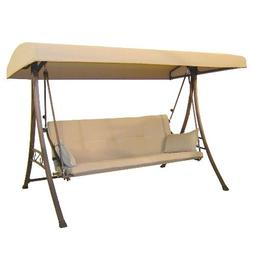 Garden Winds 3-Person Futon Swing Replacement Canopy - RipLo
