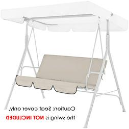 3-Person Seat Outdoor Canopy Swing Patio Chair Lounge Hammoc