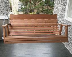 4 Cedar Porch Swing, Amish Crafted