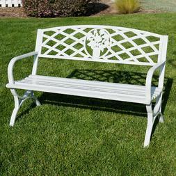 "50"" inch Outdoor Park Bench Garden Backyard Chair Porch Seat"