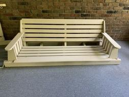 6ft REG  Wooden Porch Bench Swing Made In USA