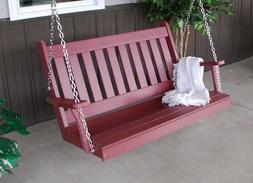 A&L Furniture Co. Amish-Made Poly Traditional English Porch