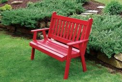 A&L Furniture Co. Amish-Made Pine Traditional English Garden