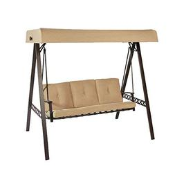 Garden Winds 3-Seater A-Frame Swing Replacement Canopy Top C