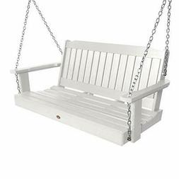 Highwood AD-PORL2-WHE Lehigh Porch Swing, 4 Feet, White