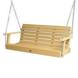 highwood AD-PORW1-SND Weatherly Porch Swing, 5 Feet Sandston