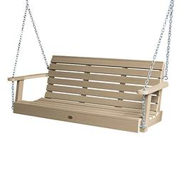 highwood AD-PORW1-TAU Weatherly Porch Swing, 5 Feet Tuscan T