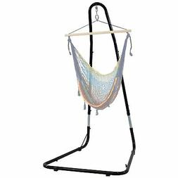 Sunnydaze Adjustable Hammock Chair Stand for Hammock Chairs