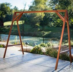 Adult Swing Frame Lawn Large Patio Outdoor Porch Stand Sturd