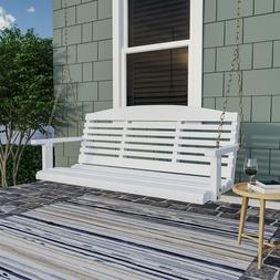 Porchgate Amish Made Classic White Porch Swing
