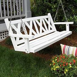 Porchgate Amish Made Haven 5ft. Recycled Plastic Porch Swing
