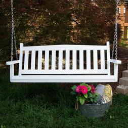 Porchgate Amish Made Mission Recycled Plastic Porch Swing
