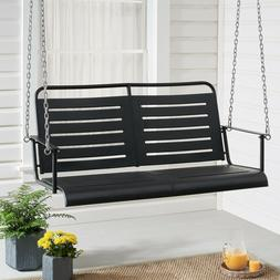 auden outdoor steel porch swing metal frame