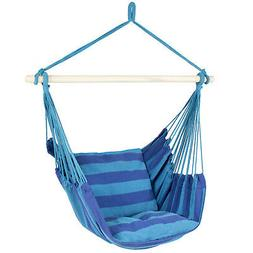 BCP Hammock Hanging Rope Chair Porch Swing Seat Patio Campin