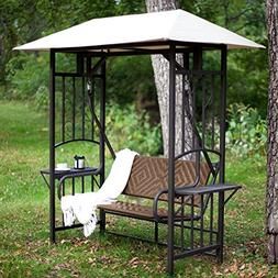 bellora 2 person gazebo swing