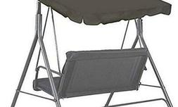 """BenefitUSA Patio Outdoor 73""""x52"""" Swing Canopy Replacement Po"""