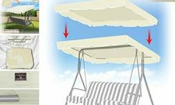 """BenefitUSA Patio Outdoor 77""""x43"""" Swing Canopy Replacement Po"""