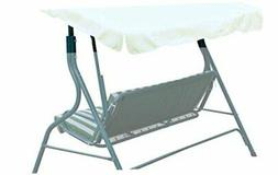 BenefitUSA Patio Outdoor Swing Canopy Replacement Porch Top