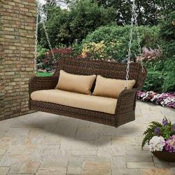 Better Homes & Garden Camrose Farmhouse Wicker Outdoor Porch