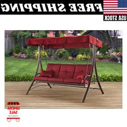 Mainstays Callimont Park 3-Seat Adjustable Canopy Recliner P