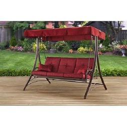callimont park 3 seat canopy porch swing