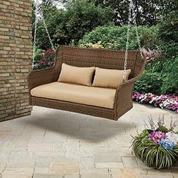Better Homes & Gardens Camrose Farmhouse Wicker Outdoor Porc