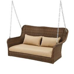 Better Homes and Gardens! Camrose Farmhouse Wicker Outdoor P