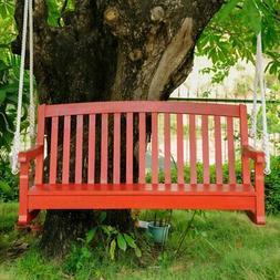 International Caravan Chelsea 4 ft. Painted Acacia Porch Swi