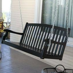 Comfortable Swing Porch Relaxation Wooden Patio Outdoor Hang