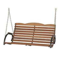 Jack Post Country Garden Hi-Back Porch Swing Seat With Chain