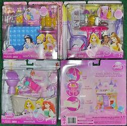 Disney Princess Doll ROYAL CASTLE Dining Bathroom Patio Furn