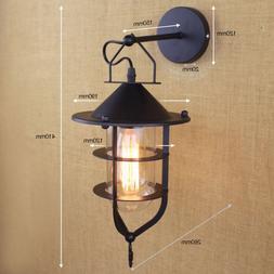 e27 vintage industrial wall lamp loft creative