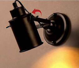 E27 Vintage Industrial Wall Lamp Loft Creative <font><b>Swin