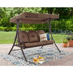 Front Porch Swing with Stand 0utdoor Patio Furniture Ba