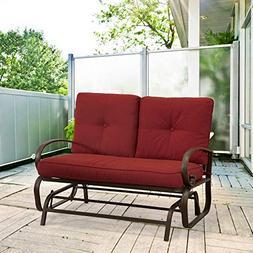 glider porch patio bench