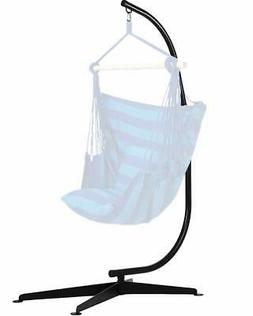 Hammock C Stand Solid Steel Construction For Hanging Air Por