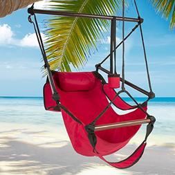 Best Choice Products Hammock Hanging Chair Air Deluxe Outdoo