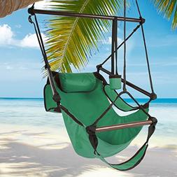 Best Choice Products Hammock Hanging Chair Air Deluxe Sky Ou