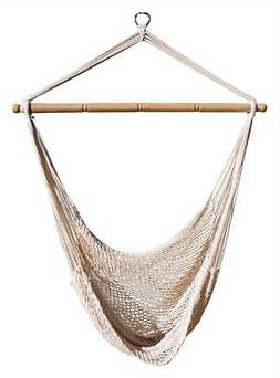 Hammock Hanging Net Chair in White