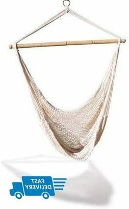 Hammock Swing Net Chair Tree Outdoor Porch Patio Indoor Camp