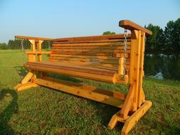 Porch Glider,Porch Swing,Bench,Cedar Porch Swing,Glider,Outd