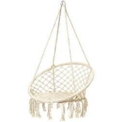 Handmade Rope Hammock Best Choice Products w/ Tassels Swing