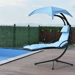 hanging chaise lounger chair arc stand air