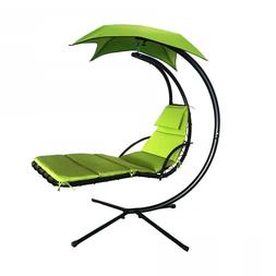Hanging-Chaise-Lounger-Chair-Arc-Stand-Air-Porch-Swing-Hammo