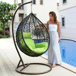 hanging hammock porch swing chair free cover